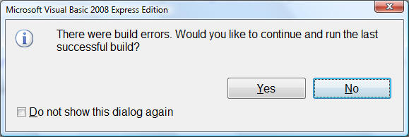 Oops, a Typo: Compiler Errors